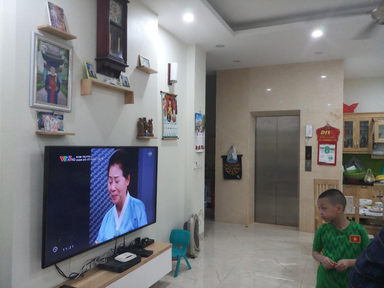 Công trình Biệt thự gia đình - Thái Hà, Đống Đa